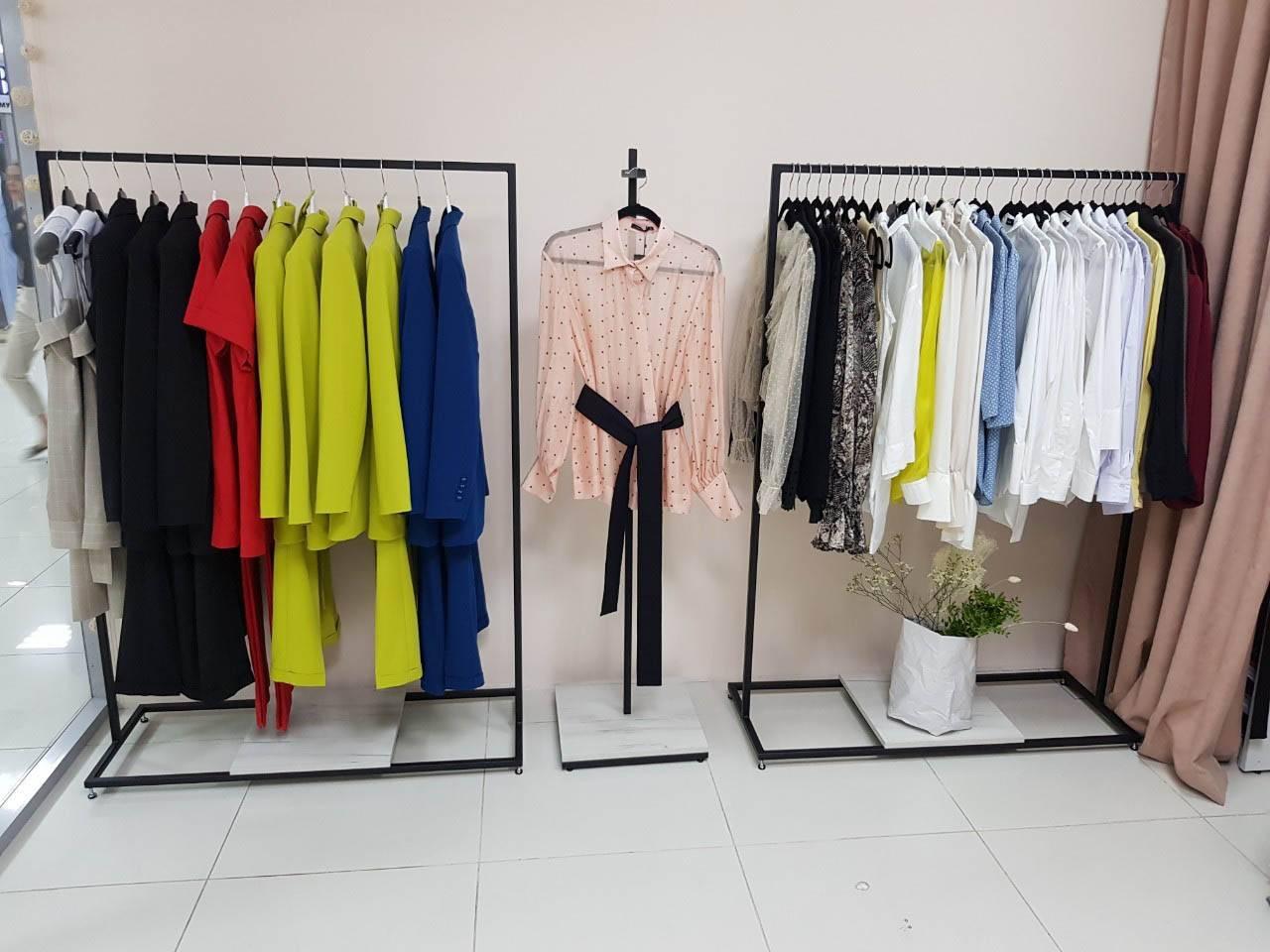 вешалки в салон одежды_1100*400*1550мм